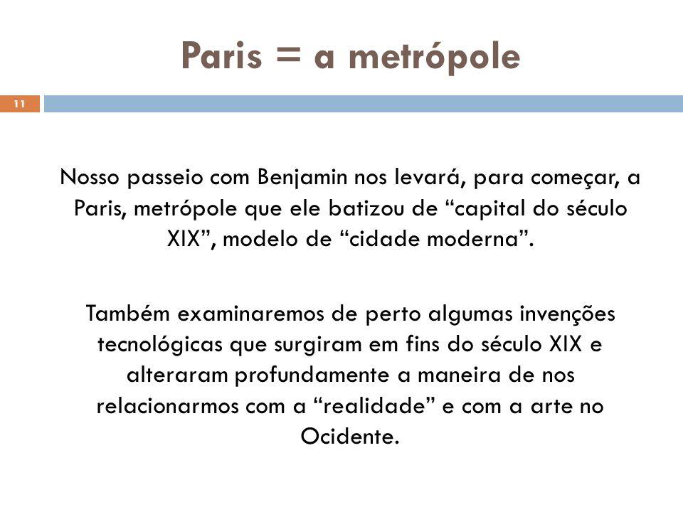 Paris = a metrópole