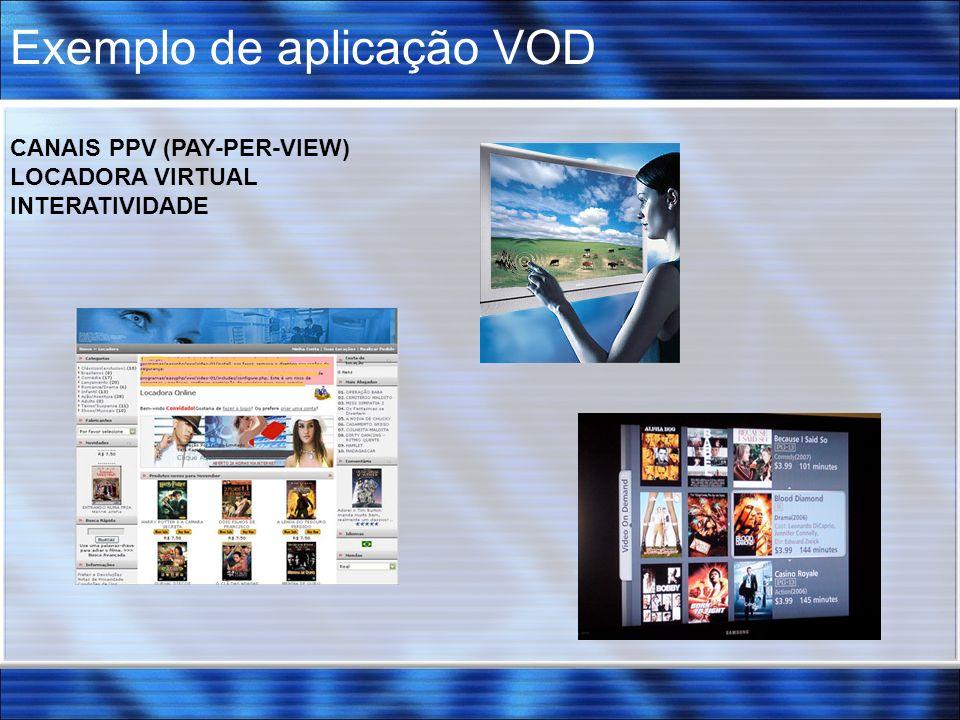 Exemplo de aplicação VOD