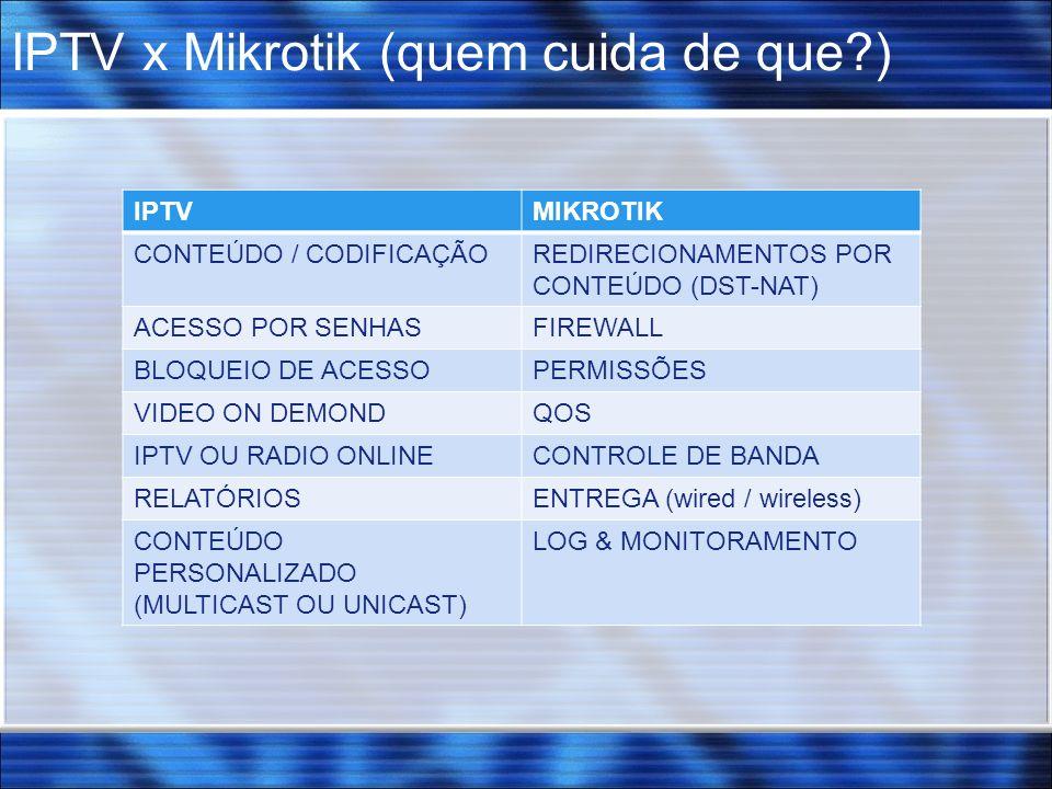 IPTV x Mikrotik (quem cuida de que )