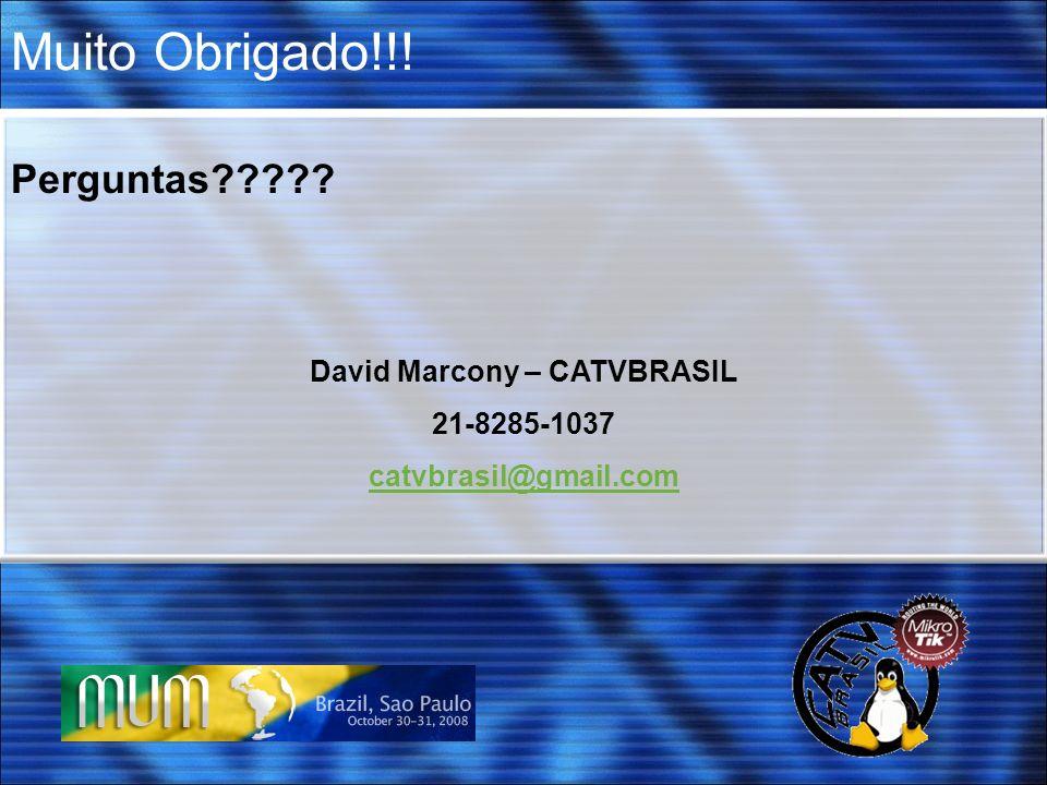 David Marcony – CATVBRASIL