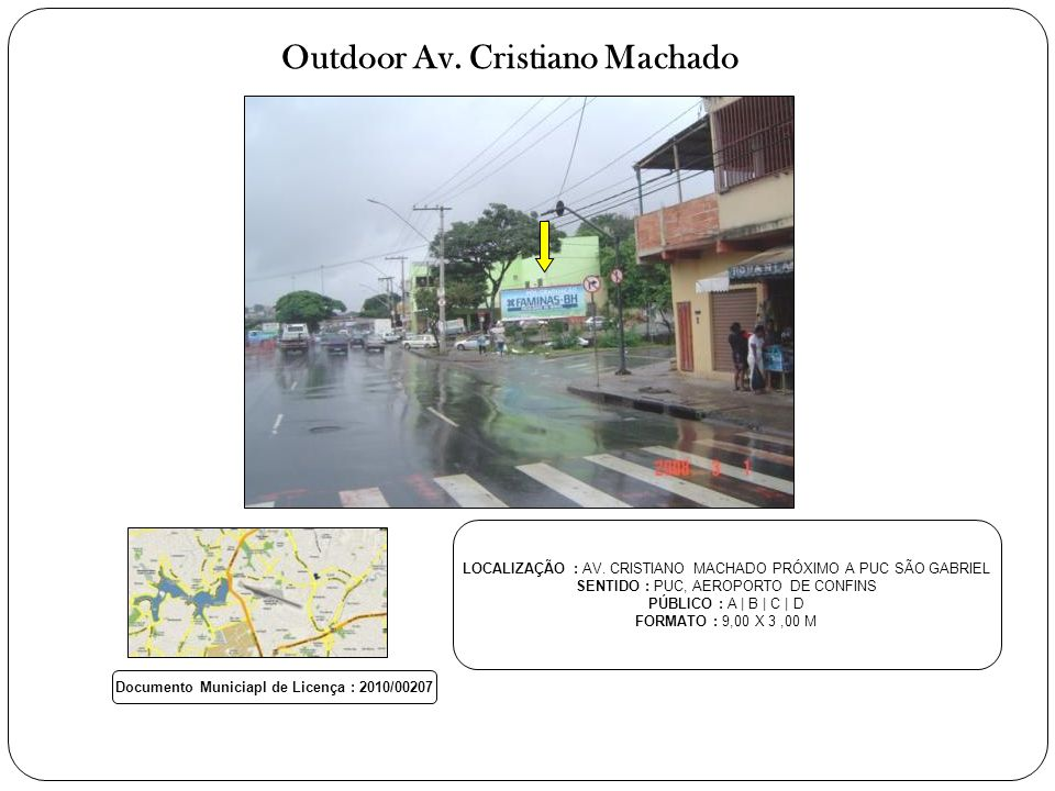 Outdoor Av. Cristiano Machado