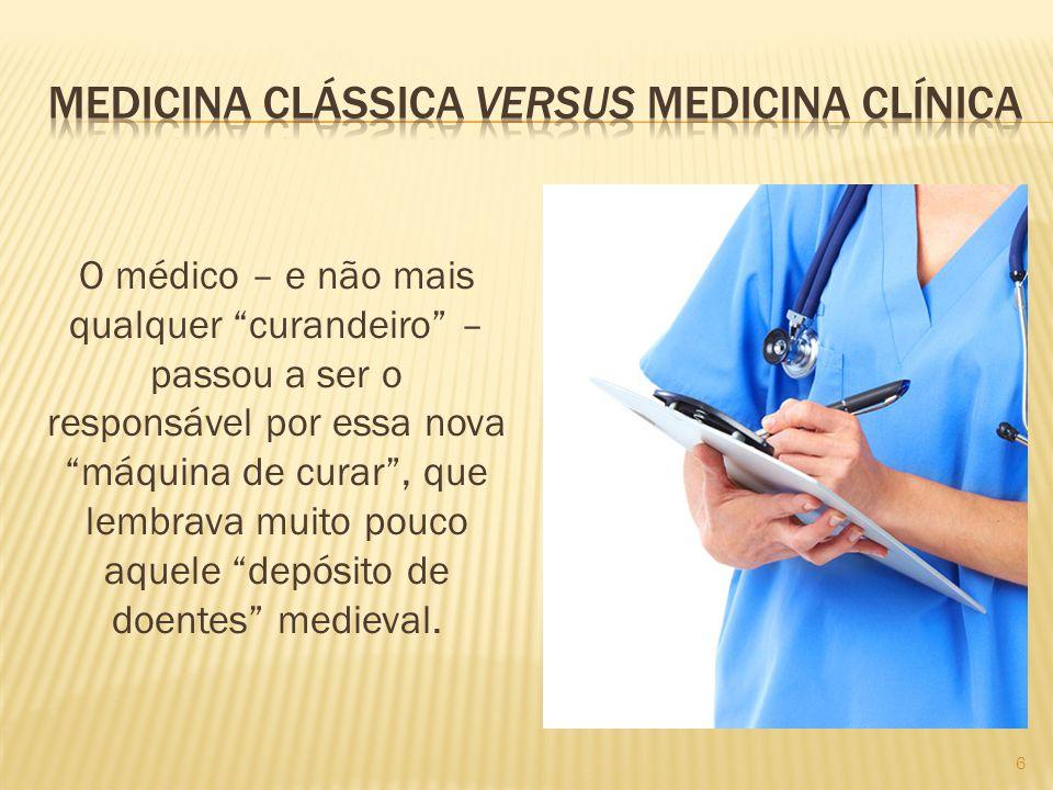 Medicina clássica versus medicina clínica