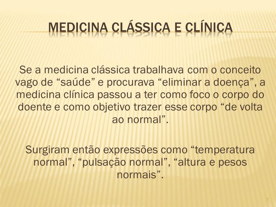 Medicina clássica e clínica