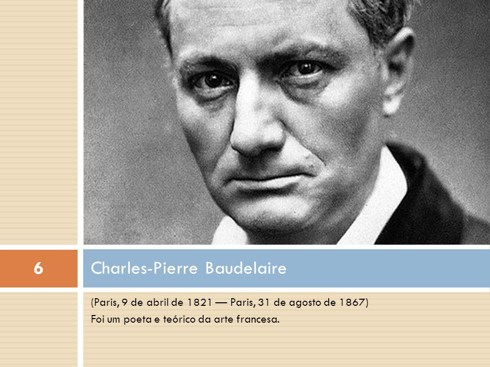 Charles-Pierre Baudelaire