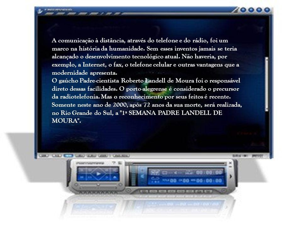 A comunicação à distância, através do telefone e do rádio, foi um marco na história da humanidade. Sem esses inventos jamais se teria alcançado o desenvolvimento tecnológico atual. Não haveria, por exemplo, a Internet, o fax, o telefone celular e outras vantagens que a modernidade apresenta.