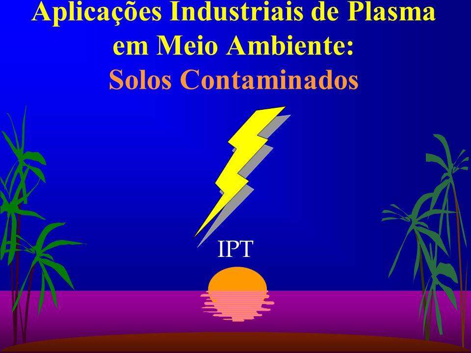 Aplicações Industriais de Plasma em Meio Ambiente: Solos Contaminados