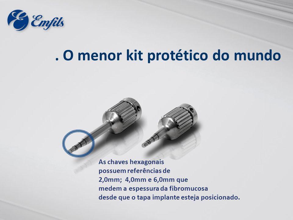 . O menor kit protético do mundo
