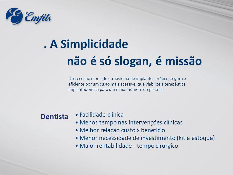 . A Simplicidade não é só slogan, é missão Dentista