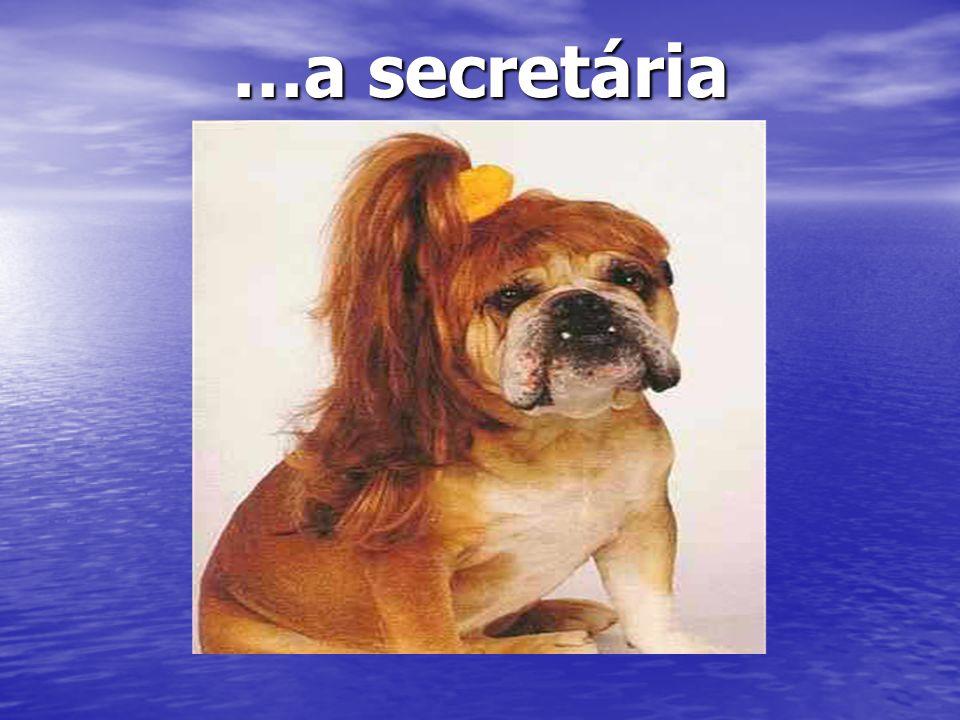 …a secretária Oh la belle rousse