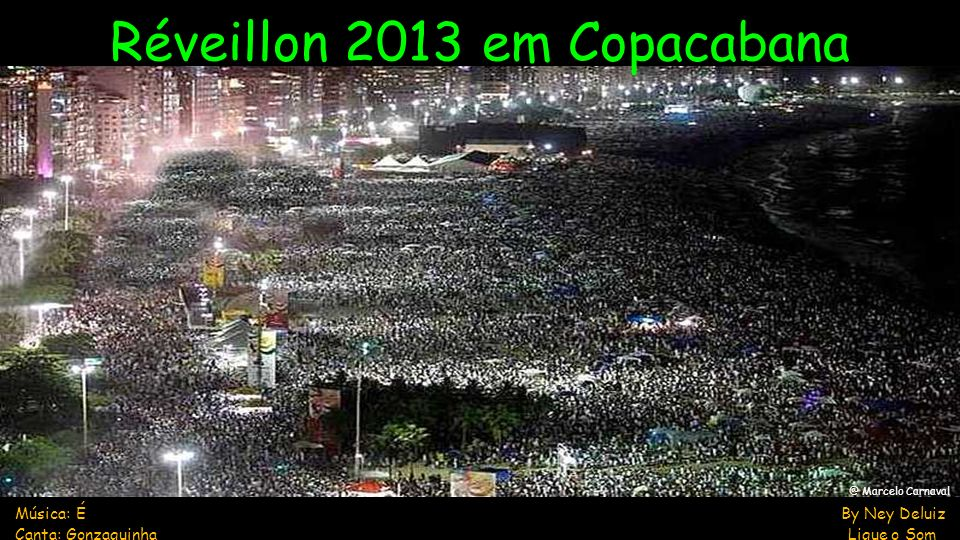 Réveillon 2013 em Copacabana