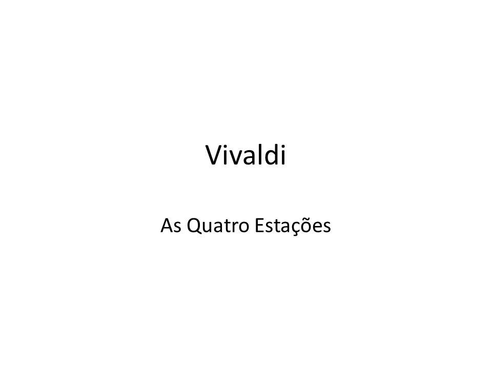Vivaldi As Quatro Estações