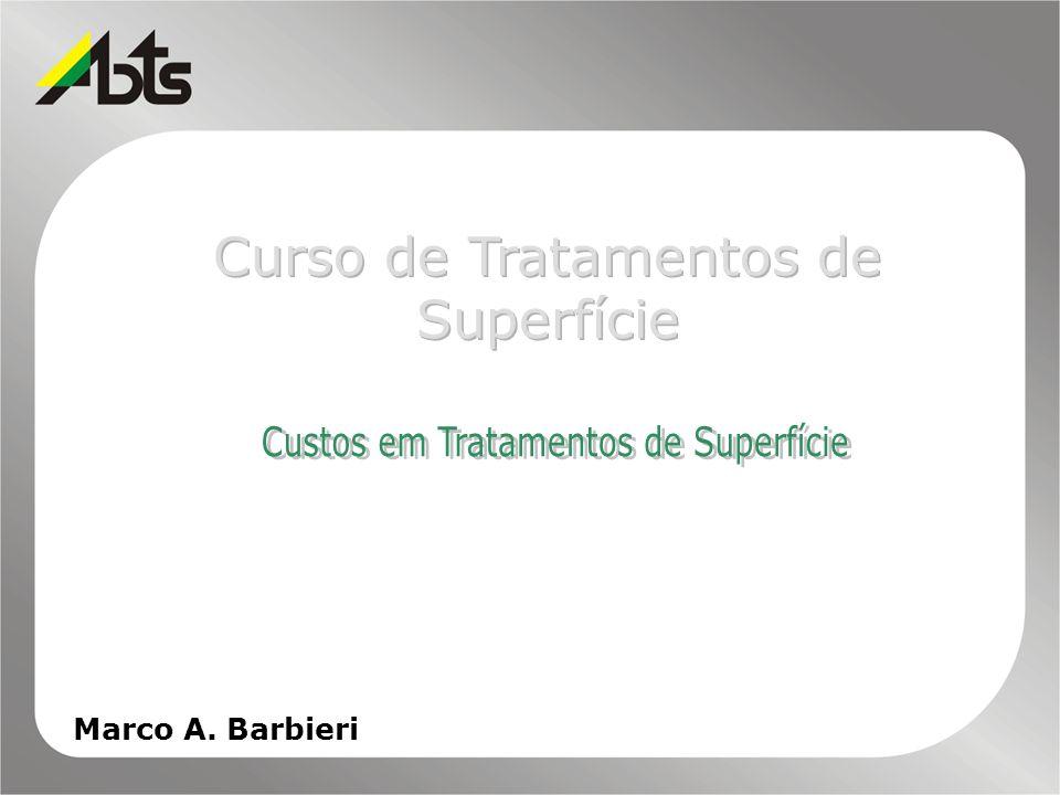 Curso de Tratamentos de Superfície