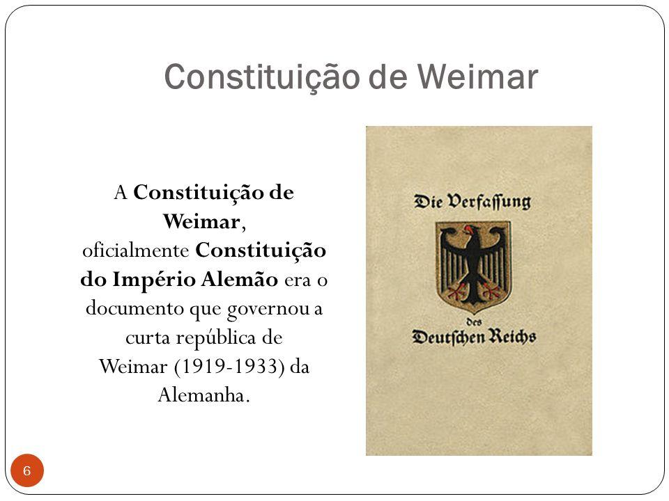 Constituição de Weimar