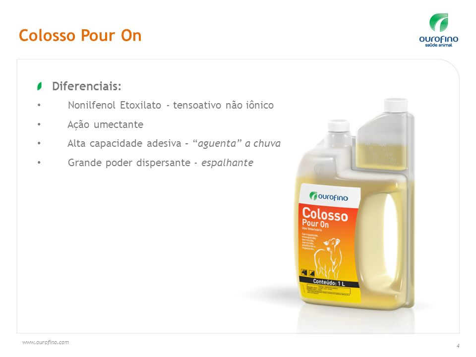 Colosso Pour On Diferenciais: