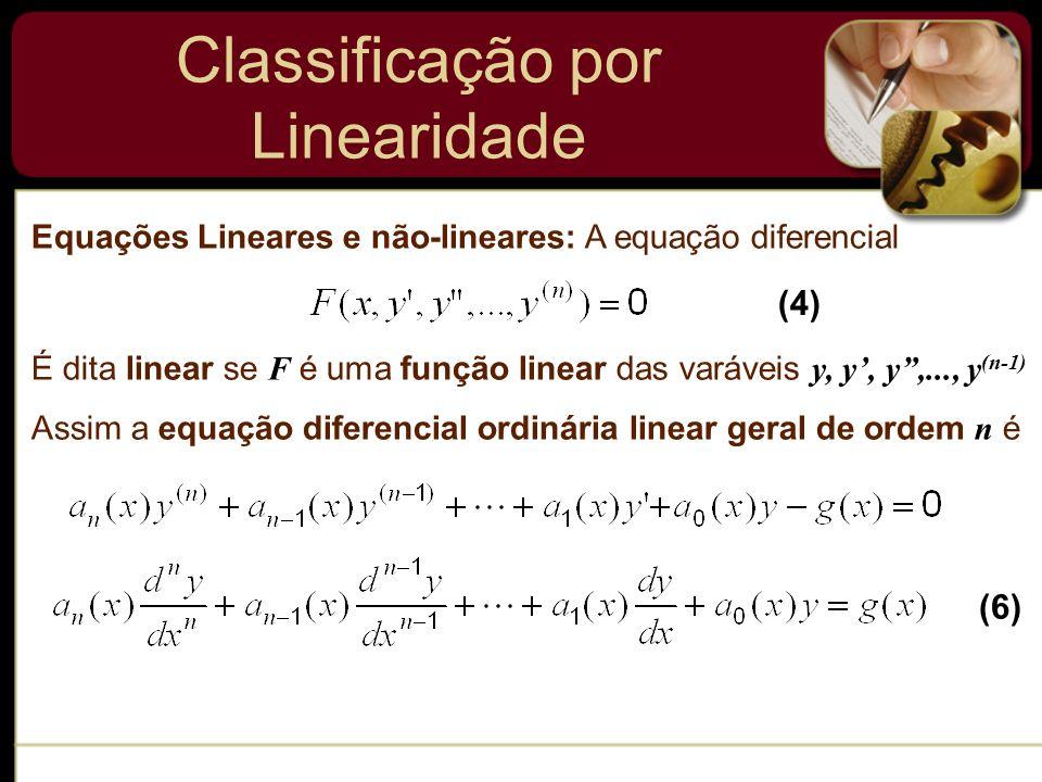 Classificação por Linearidade
