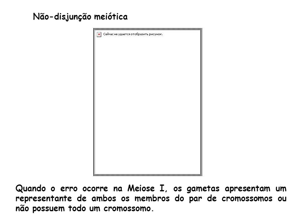 Não-disjunção meiótica