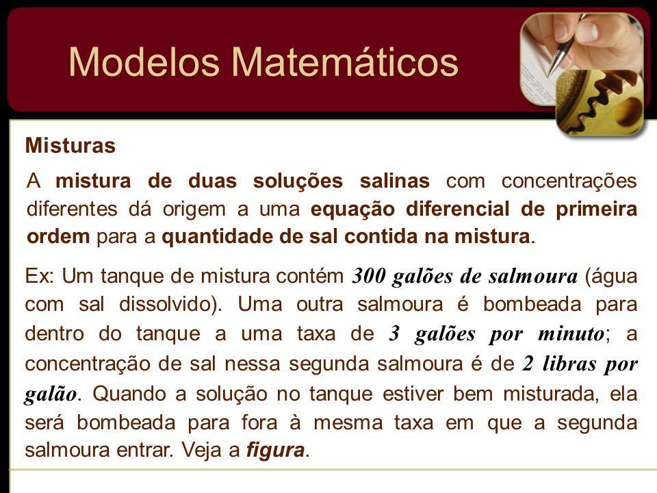 Modelos Matemáticos Misturas