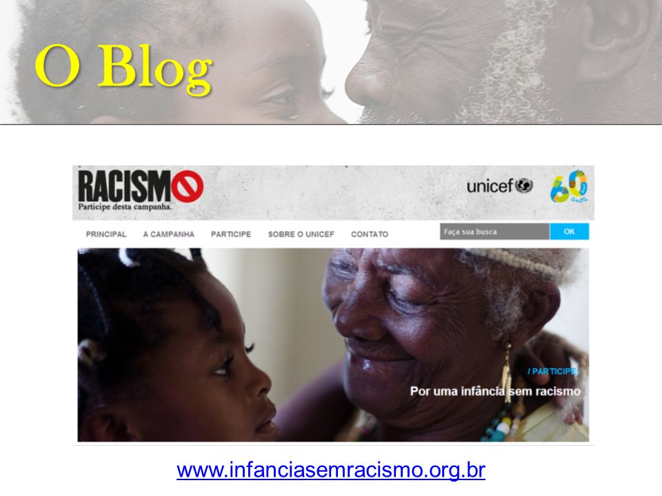 O Blog www.infanciasemracismo.org.br