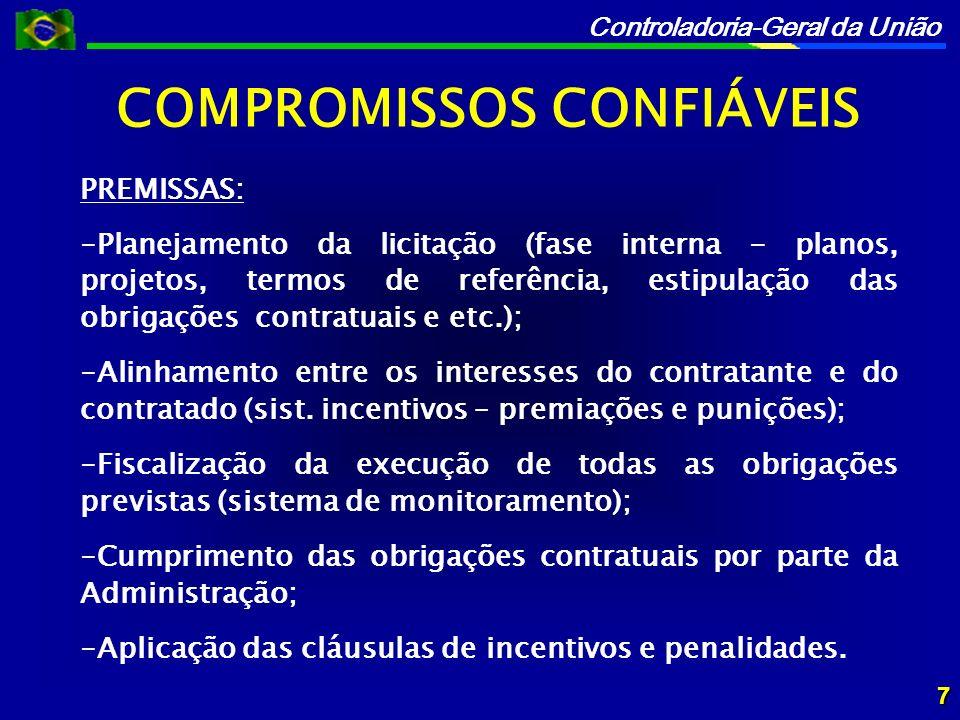 COMPROMISSOS CONFIÁVEIS