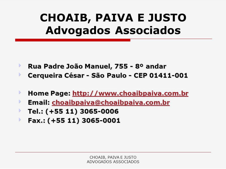 CHOAIB, PAIVA E JUSTO Advogados Associados