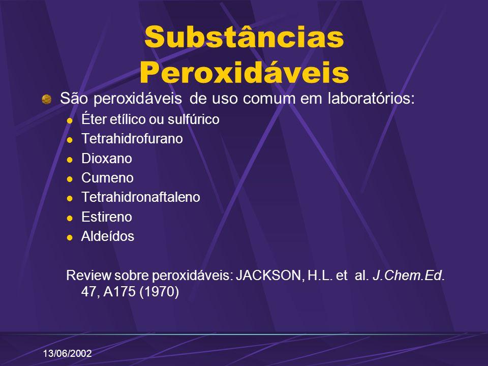 Substâncias Peroxidáveis