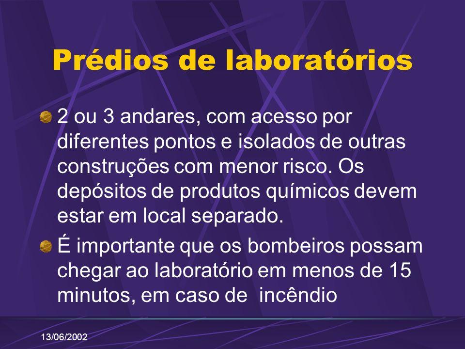 Prédios de laboratórios