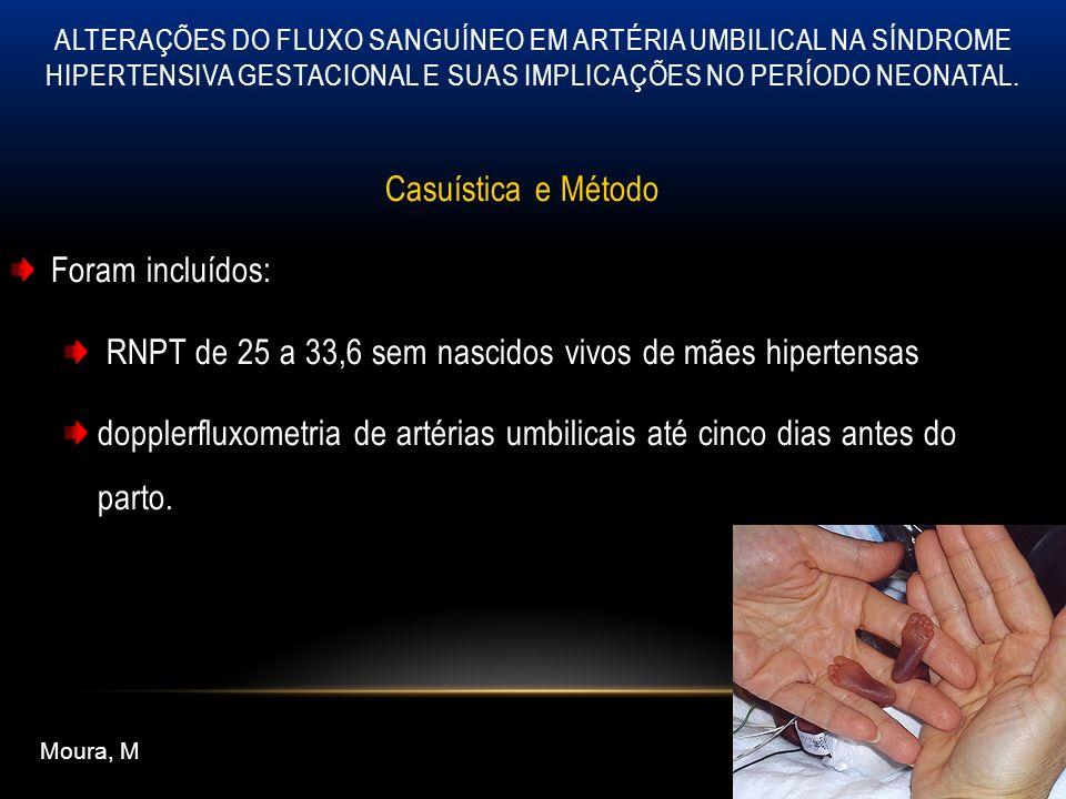 RNPT de 25 a 33,6 sem nascidos vivos de mães hipertensas