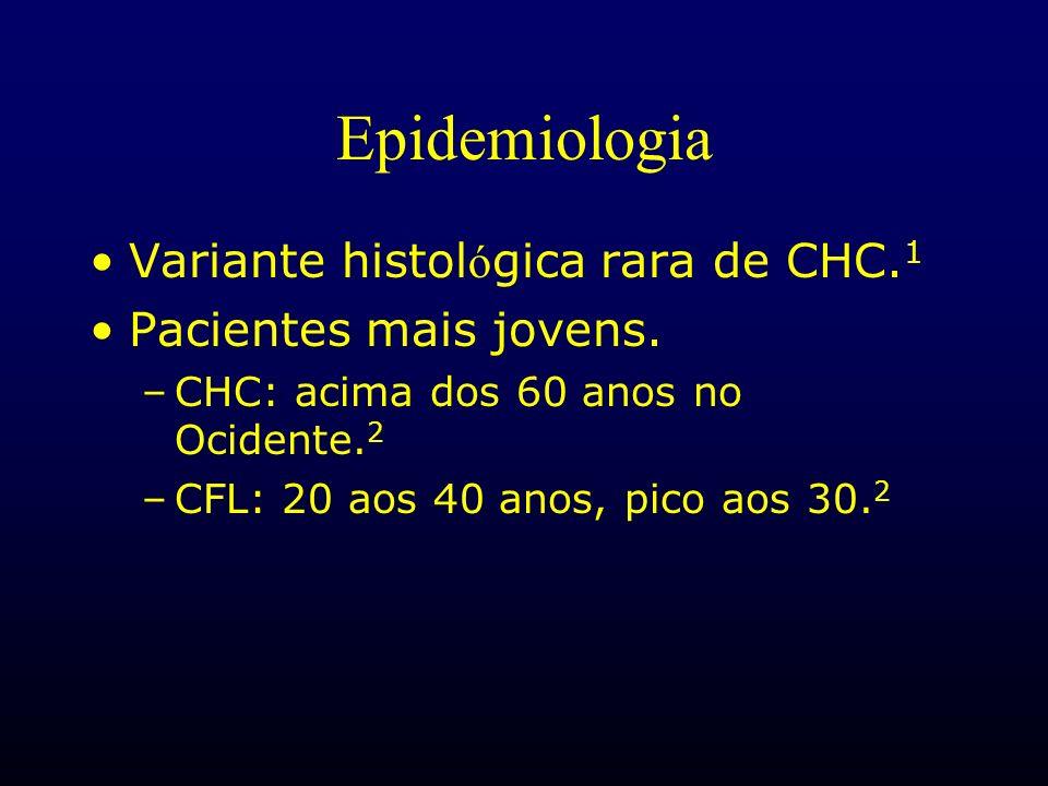 Epidemiologia Variante histológica rara de CHC.1