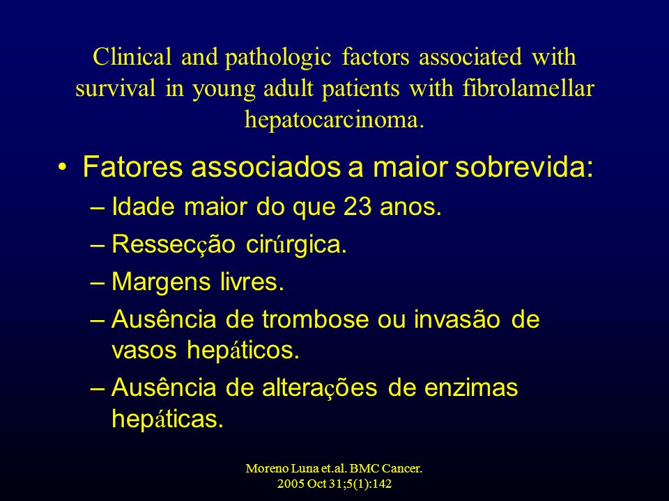 Moreno Luna et.al. BMC Cancer. 2005 Oct 31;5(1):142