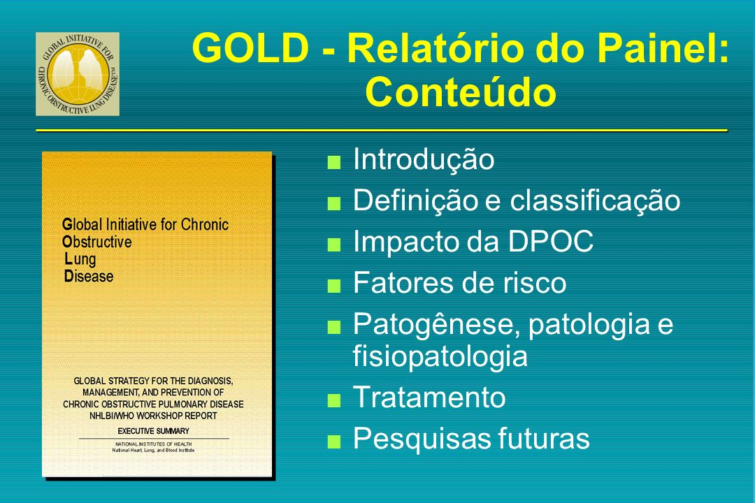 GOLD - Relatório do Painel: Conteúdo