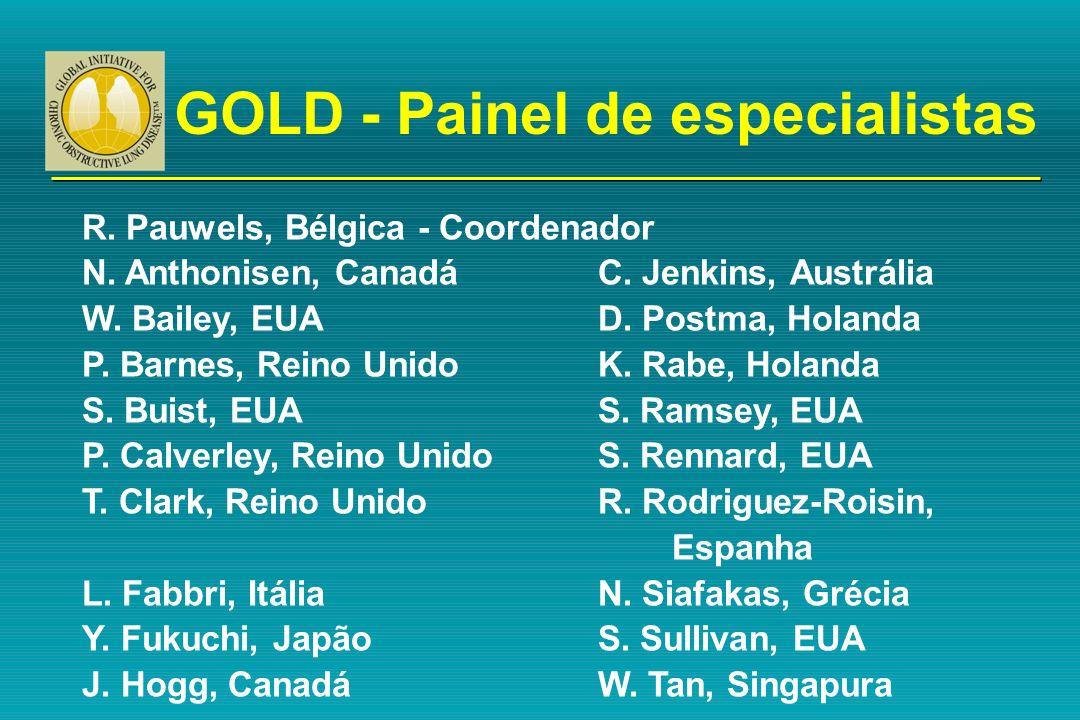 GOLD - Painel de especialistas