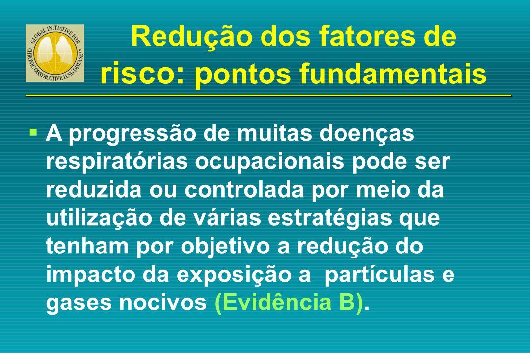 Redução dos fatores de risco: pontos fundamentais