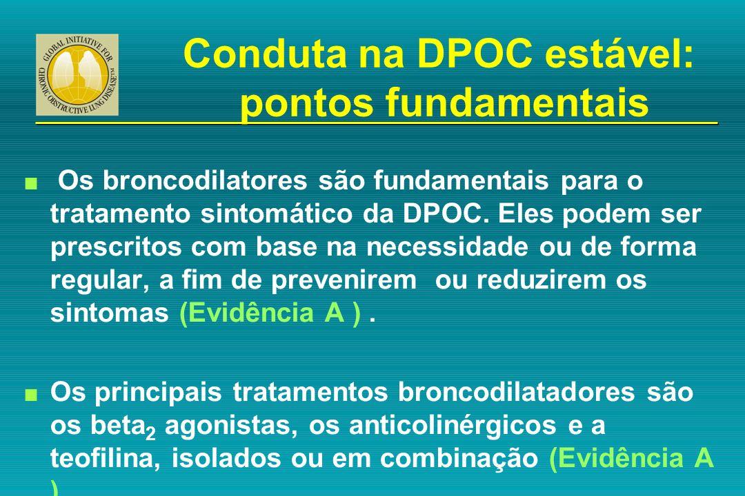Conduta na DPOC estável: pontos fundamentais