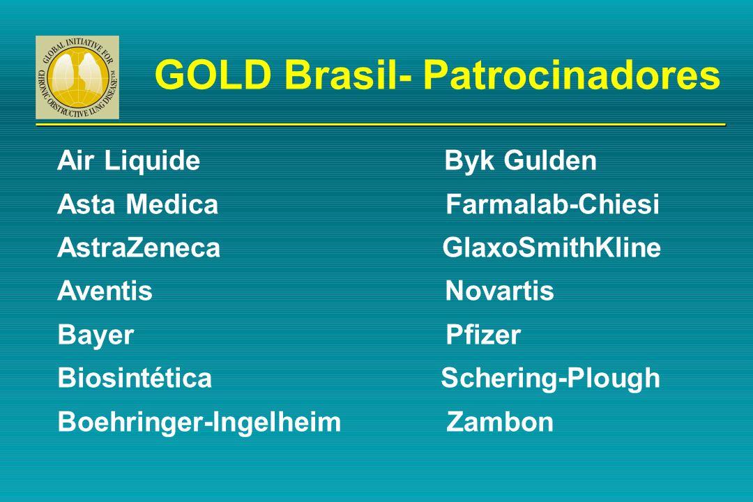 GOLD Brasil- Patrocinadores