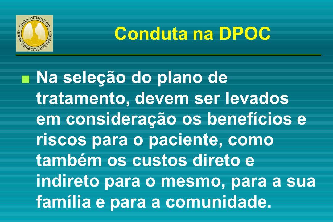 Conduta na DPOC