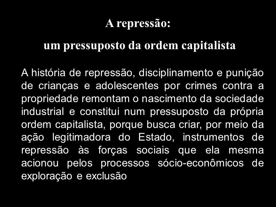 um pressuposto da ordem capitalista