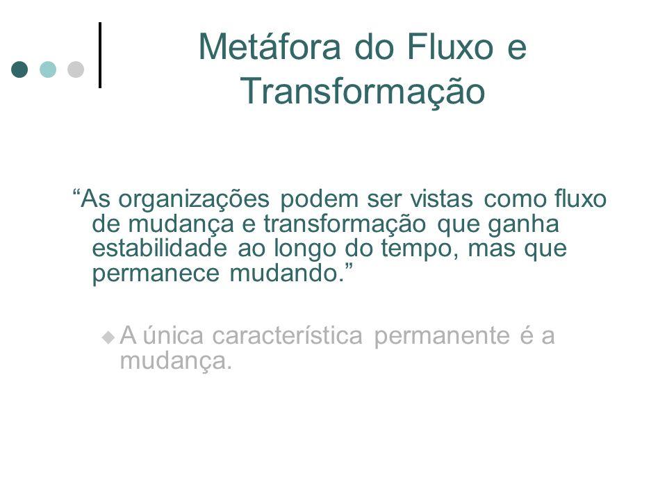 Metáfora do Fluxo e Transformação