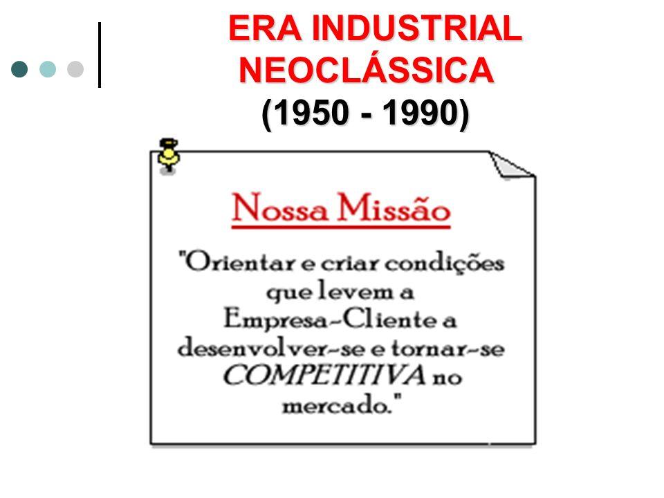 ERA INDUSTRIAL NEOCLÁSSICA (1950 - 1990)