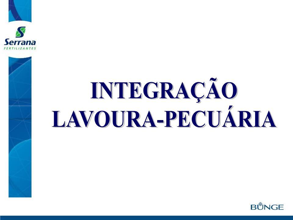 INTEGRAÇÃO LAVOURA-PECUÁRIA