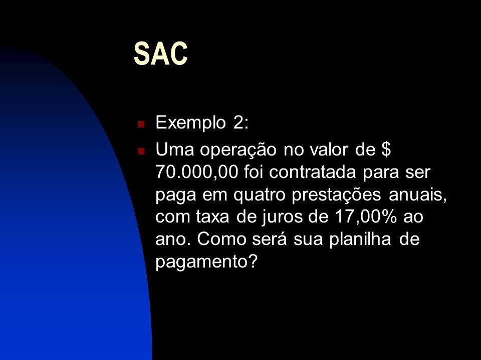 SAC Exemplo 2: