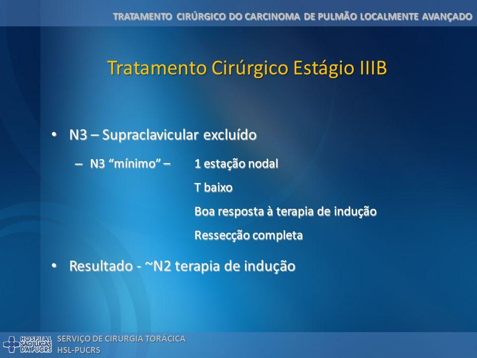 Tratamento Cirúrgico Estágio IIIB