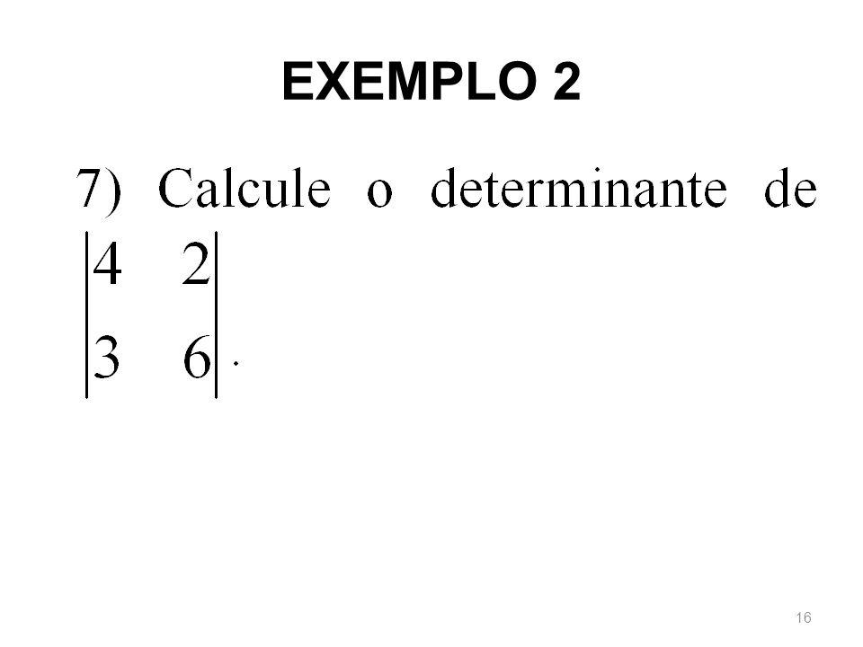 EXEMPLO 2 16