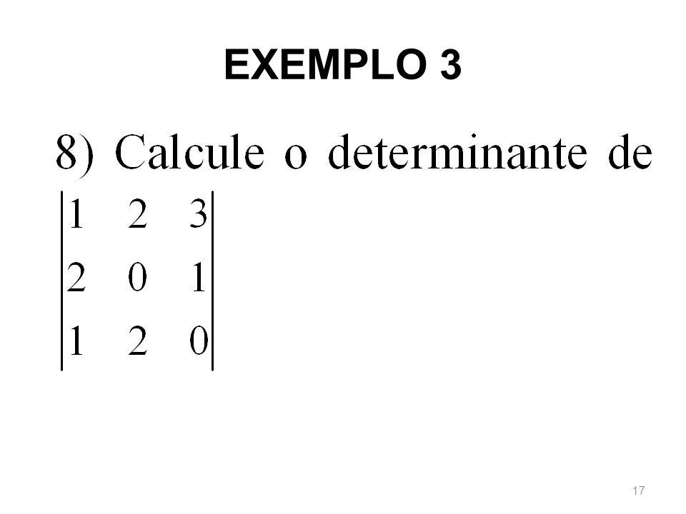 EXEMPLO 3 17
