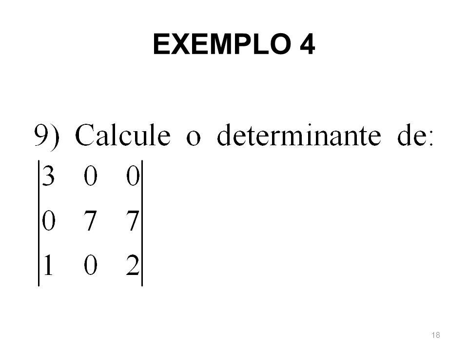 EXEMPLO 4 18
