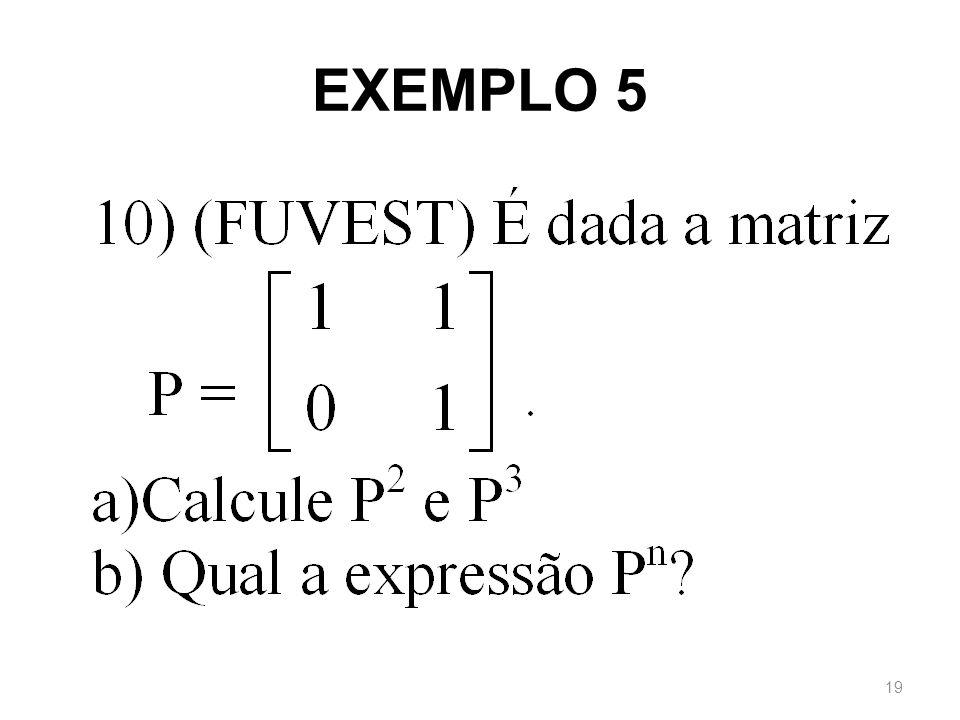 EXEMPLO 5 19