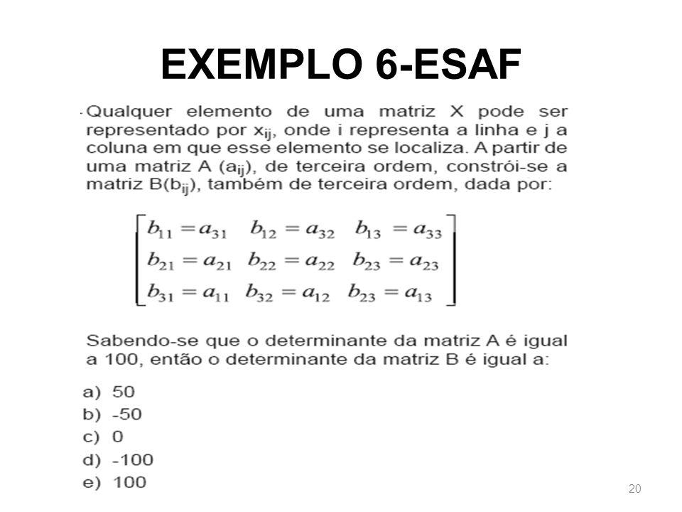 EXEMPLO 6-ESAF 20