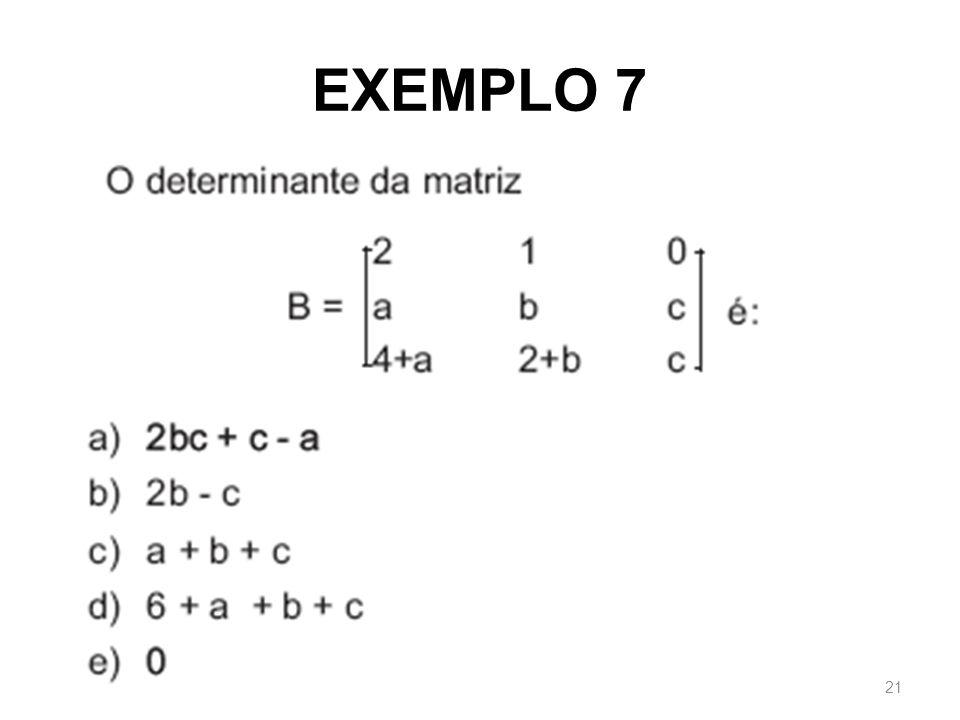 EXEMPLO 7 21