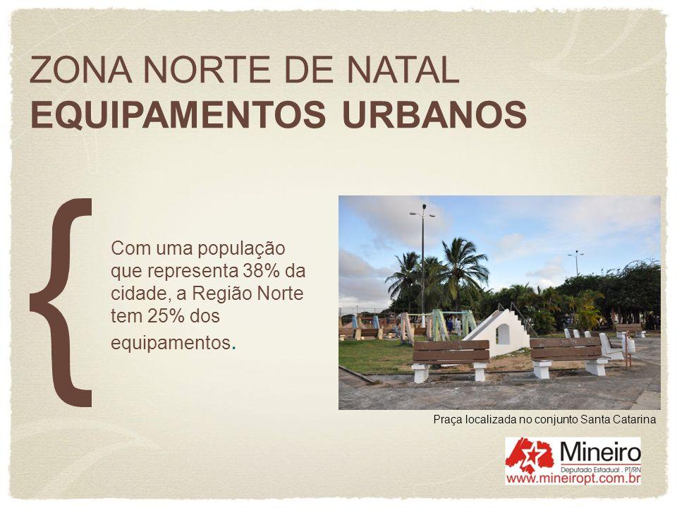 ZONA NORTE DE NATAL EQUIPAMENTOS URBANOS