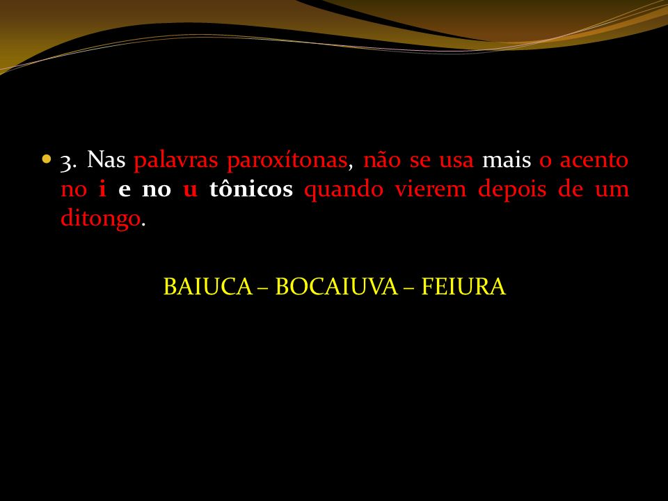 BAIUCA – BOCAIUVA – FEIURA