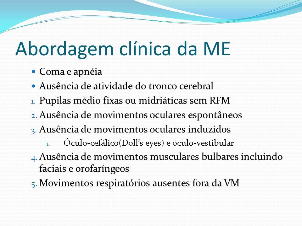 Abordagem clínica da ME